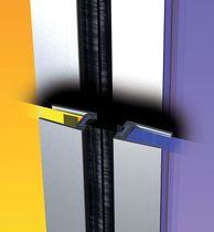 Profilé d'isolation aluminium pour porte en verre Gdp