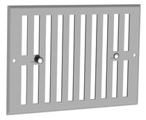 Grille obturable Blanc