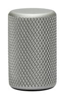 Bouton GRAF 0109 aluminium Anodisé inox brossé