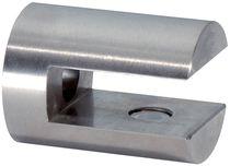 Support d'étagère cylindrique inox