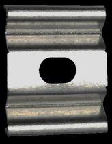 Clip de fixation pour profil cintrable