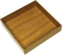 Boîte carrée bois