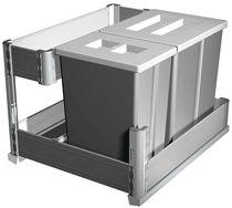 Poubelle coulissante new line 24 litres Pour meuble de 600 mm
