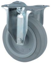 Roulette standard gris souple