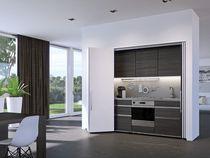 Garniture Hawa folding concepta 25 porte bois pour vantail de hauteur : de 1250 à 1850 mm