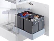 Poubelle coulissante 30 litres Pour meuble de 450 mm