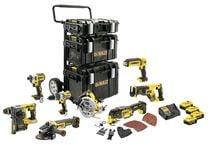 Lot 8 outils XR 18 V 5 Ah