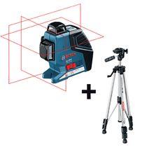Laser plans 3 axes affichage à 360° gll3-80p avec trépied BS150