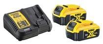 Pack énergie 18V (2 batteries 5,0 et 1 chargeur)