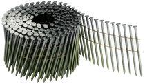 Pointe en rouleau 16° annelée Reliée bande métal