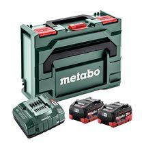 Pack 2 batteries + chargeur 18 V 2x10 Ah