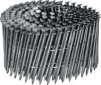 Pointe en rouleau 16° annelé reliée bande métal