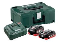 Pack 2 batteries + chargeur 18 V 1X4 AH 1X5,5 AH