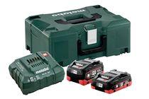Pack 2 batteries + chargeur 18V 1X4 AH 1 X 5,5 Ah