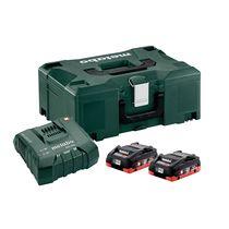 Pack 2 batteries + chargeur 18V 2X4 Ah