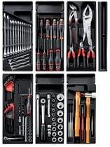 Composition d'outils en module pour servante