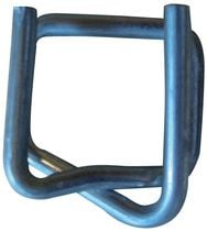 Boucle pour feuillard acier galvanisé