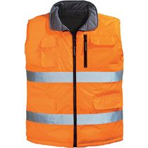 Gilet réversible HV Orange