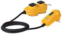 Adaptateur 4 prises powerblock + protection 30 mA