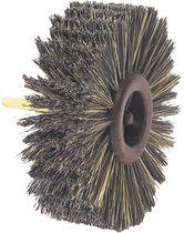 Brosse rotative nylon et fibre pour meuble