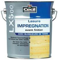 Lasure d'imprégnation LX500