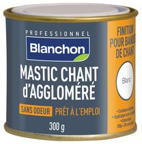 Wood mastic chant aggloméré