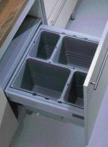 Seau pour poubelle de tiroir à poser ou suspendue