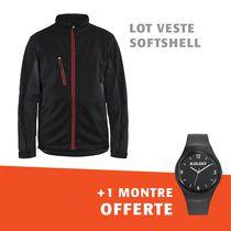 Lot 1 veste softshell 4950 + 1 montre offerte