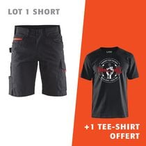 Lot 1 short 1499 + 1 tee-shirt offert
