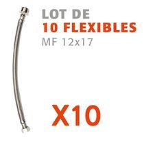 Lot de 10 flexibles MF 12x17