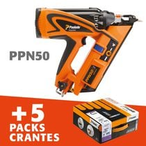 Lot PPN50 + 5 pack cranté