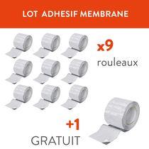 Lot de 9 adhésifs membrane + 1 gratuit Lot de 9 adhésifs membranes + 1 gratuit
