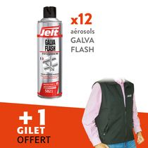 Lot galvanisation Flash + 1 gilet offert
