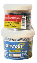 Pâte à joint Gebatout 2 Lot Gebatout2 500 gr + filasse de li 80 gr