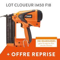 Cloueur IM50 F18 lithium + offre de reprise