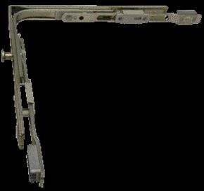 Ferrures pour oscillo-battants pvc Uni-jet