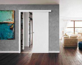 Ferrures pour portes coulissantes en applique