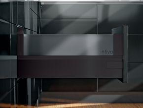 Kit bloc-tiroir intivo BOXCOVER / BOXCAP - noir terra