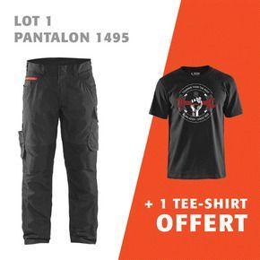 1 pantalon 1495 + 1 tee-shirt offert