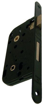 Serrure multibat têtière acier noir