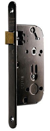 Serrure série D350 CFPF têtière acier noir