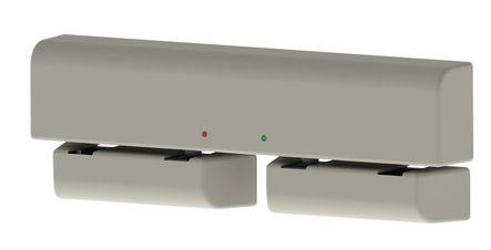 Verrou motorisé applique E-DAS 24/48V DC