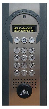 Interphone spécial réno encastré GSM