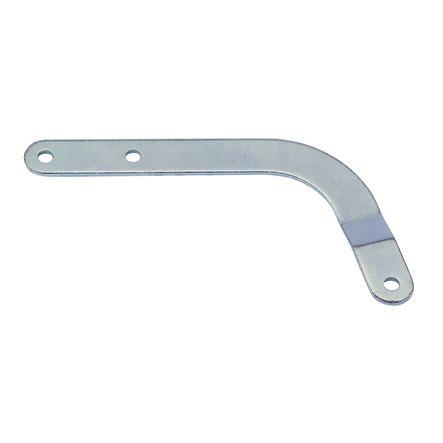 Bras courbe pour porte sectionnelles