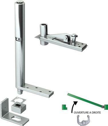 Ferme-porte intégré