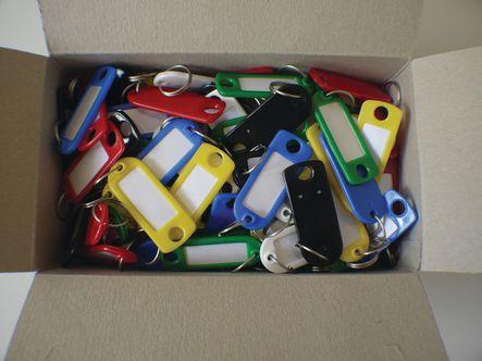 Assortiment Attache-clés plastique
