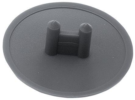 Cache pour boîtier excentrique diamètre 25 mm