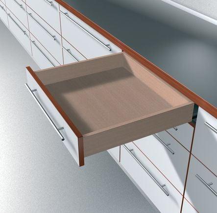 coulisse invisible pour tiroir bois sortie totale charge. Black Bedroom Furniture Sets. Home Design Ideas
