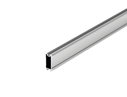 Tube de penderie ovale aluminium + joint