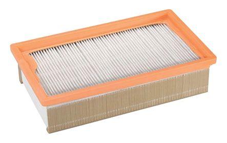 Filtre plissé plat pour aspirateur classe H
